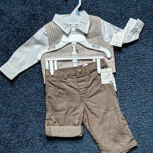 3 pcs suit for baby boy